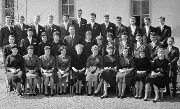 Jg 44 Konf. mit Pfarrer Kurt Marti  1960