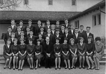 Jg 47 Konf. mit Pfarrer Hans Meier 1963