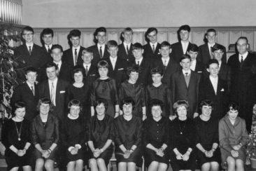 Jg 49 Konf. mit Pfarrer Hans Meier 1965