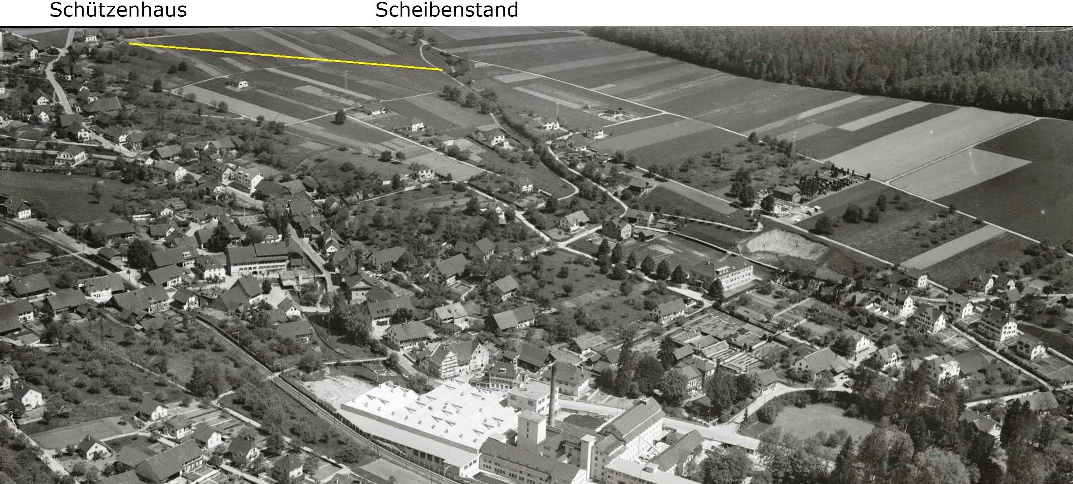 Luftaufnahme 1947zber