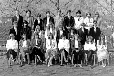 Jg 66 Konf. mit Pfarrer Moor  4. April 1982