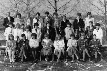 Jg 67 Konf. mit Pfarrer Moor  27. März 1983