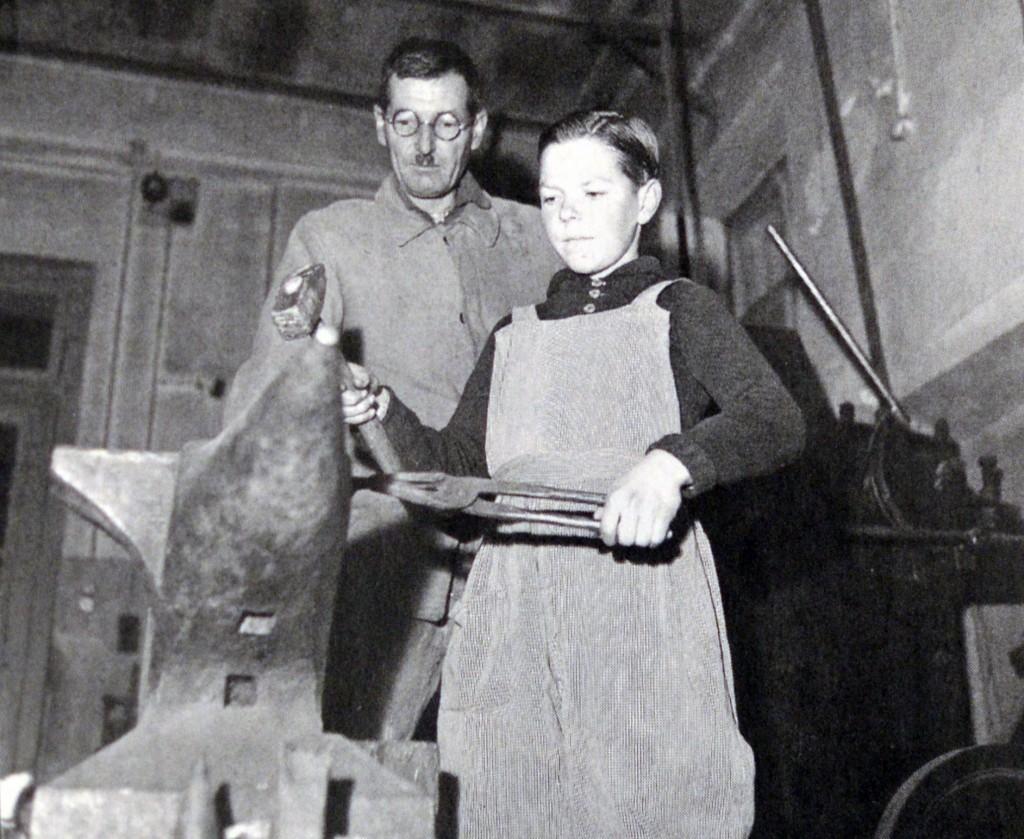 Schmiede 1950r