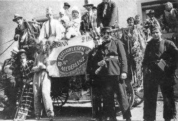 1936 wurde das Eierauflesen auf der Mühlestrasse das letze mal durchgeführt