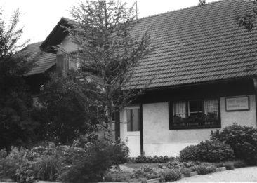 Schreinerei Siegrist Eichiweg 16 Südseite