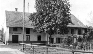 Soder Haus mit Mühle um 1918