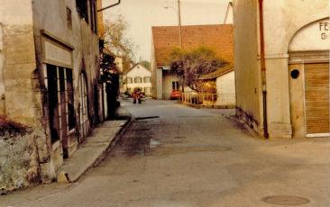 Mühlestrasse um 1975