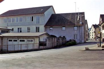 Mühlestrasse richtung Dorfplatz