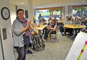 Anita Trautmann bedankte sich bei allen Beteiligten für den schönen, gemütlichen und fröhlichen Nachmittag