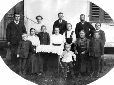 Fam. Friedrich & Elise Wilk-Meier um 1910