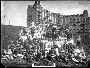 Ausflug auf Rigi Kulm 1920