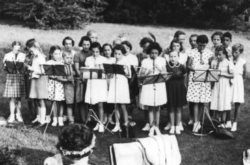 1952 Flöten und Gesang Jg 42-45 mit Margrit Baumann