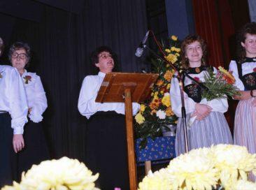 Presidentin Erika Roth-Wagner Begrüsst die Gäste