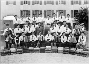 Handörgeli-Club um 1935