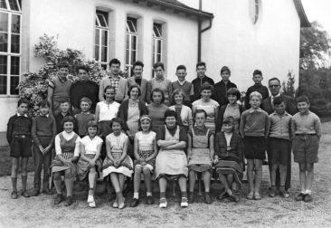 Jg 44 - 46  Seck. Lehrer Willi Basler   1959