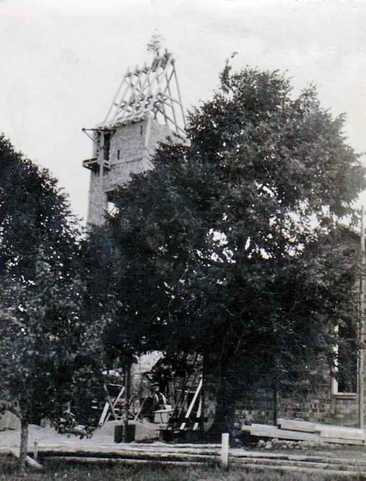 Kirchturm 1948 2